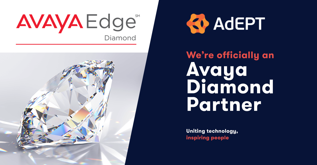 AdEPT Become Avaya Diamond Partner