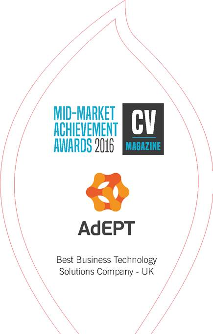 AdEPT wins Best Business Technology Solutions Company in the